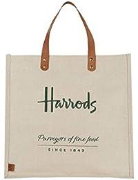 Harrods - Bolso de asas para mujer Juta Large