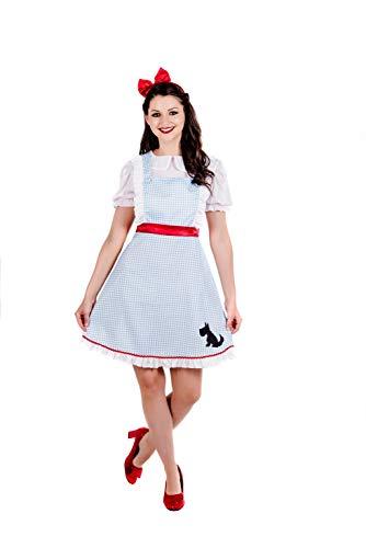 Fun Shack Dorothy Damen Fancy Kleid Welt Buch Tag Charakter Damen Erwachsene Kostüm Outfit