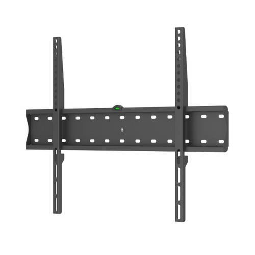 "TooQ LP4170F-B - Soporte fijo de pared para monitor/TV/LED de 37"" a 70"", hasta 40kg de peso, distancia a la pared 27mm, incluye nivel de burbuja, ultra delgado, formato VESA hasta 600x400, color negro"