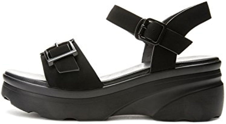 DHG Sandali estivi, Pantofole da donna alla moda, Sandali piatti casual, Sandali con tacco basso a tacco basso... | On Line  | Scolaro/Signora Scarpa