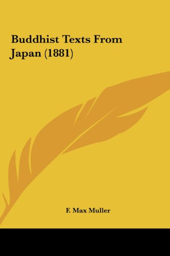 Buddhist Texts from Japan (1881)