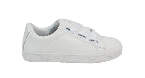 By Shoes Damen Sneakers Weiß