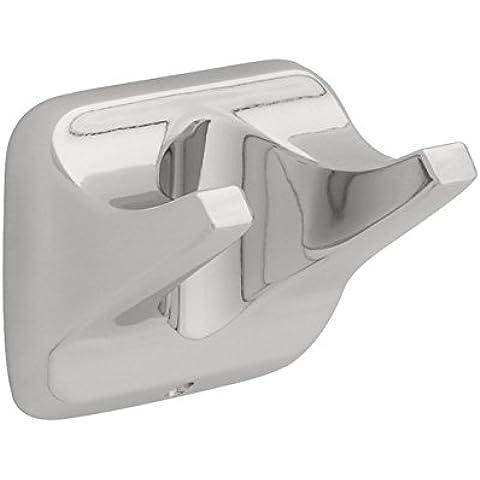 Franklin latón D2402pc Futura, Hardware de baño accesorios, gancho doble