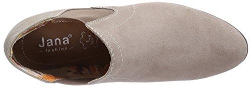 Softline - 25280, Scarpe col tacco con cinturino a T Donna Marrone (Braun (Pepper / Suede 327))