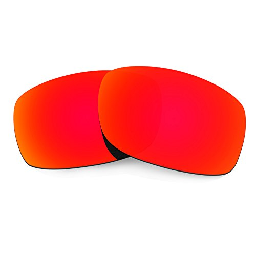 HKUCO Plus Mens Replacement Lenses For Oakley Fives Squared Sunglasses Red Polarized