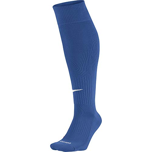 Nike Unisex Erwachsene Knee High Classic Football Dri Fit Fußballsocken, Blau (Varsity Royal Blue/White), 34-38 EU (S)