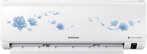 Samsung 1 Ton 5 Star Inverter Split AC (Copper Condensor, AR12MV5HETS, White)