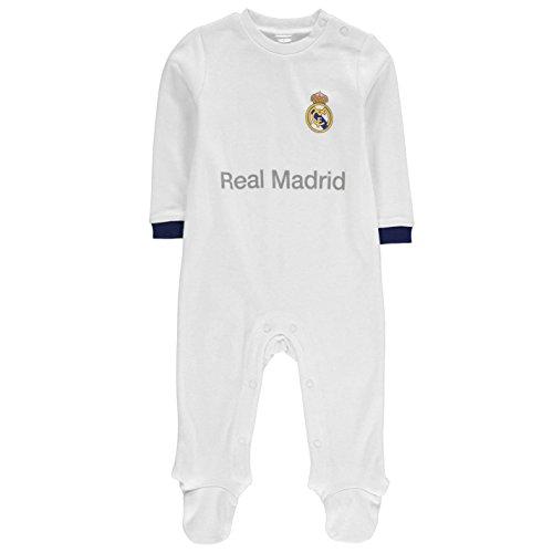 Team Kinder Football Baby Strampler / Schlafanzug Real Madrid UK 6-9 Monate (Team-pyjama-hose-muster)