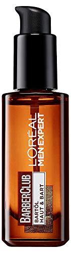 L\'Oréal Men Expert Barber Club Bartöl, Ges&es Bartwachstum gepflegter und gebändiger Bartstil ohne Juckreiz mit Zedernholzöl (30 ml)