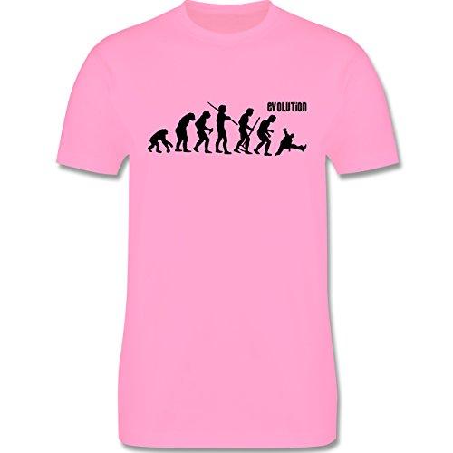 Evolution - Breakdance Evolution - Herren Premium T-Shirt Rosa