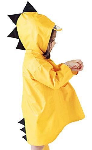 Bevalsa unisex bambino impermeabile bambina bambino di pioggia incappucciati impermeabile poncho cartoon cute con cappuccio impermeabile giacca antipioggia per ragazzi ragazze