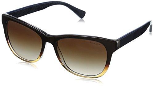 Ralph Lauren Ralph by Damen 0Ra5196 144413 54 Sonnenbrille, Brown Frame/Navy Gradient Lens