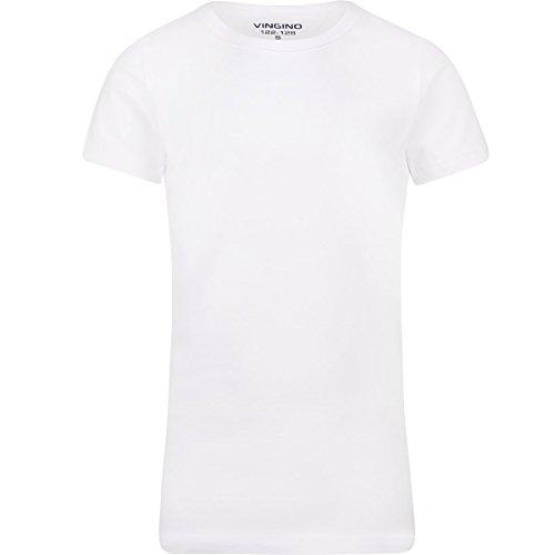 d6f0ec9d2e233 Vingino T-Shirt boys short sleeve Unterhemd weiß