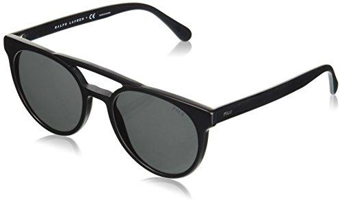 Polo Ralph Lauren Herren 0Ph4134 528487 53 Sonnenbrille, Schwarz (Vintage Black/Grey)