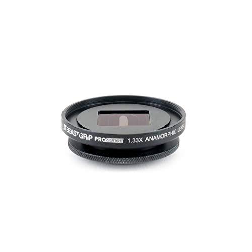 BEASTGRIP Pro Series 1,33 X Anamorphes Objektiv [Linsenaufsatz] Pro Smartphone Halterung 1.33