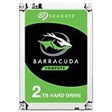 2 to Seagate ST2000DM008 Barracuda, HDD 3.5', SATA III - 6Gb/ s, 7200 tpm, 256 Mo de Cache, NCQ, OEM