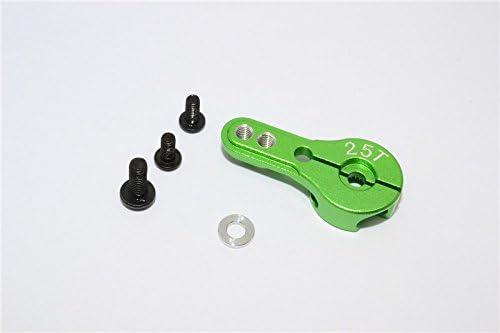Aluminium Servo Horn For 25T Spline Spline Spline Output Shaft - 1Pc Green | De Nouveaux Produits 2019  93d745