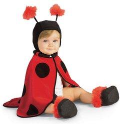 Kostüm Marienkäfer Marienkäferkostüm Baby Babykostüm Ladybug rot Kinder Kinderkostüm (Marienkäfer Cape Kostüme)