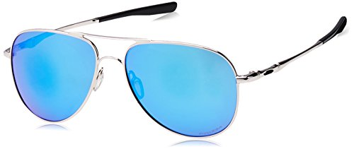 Oakley UV Protected Round Unisex Sunglasses - (0OO411941191058|58|Prizm Sapphire Color) image