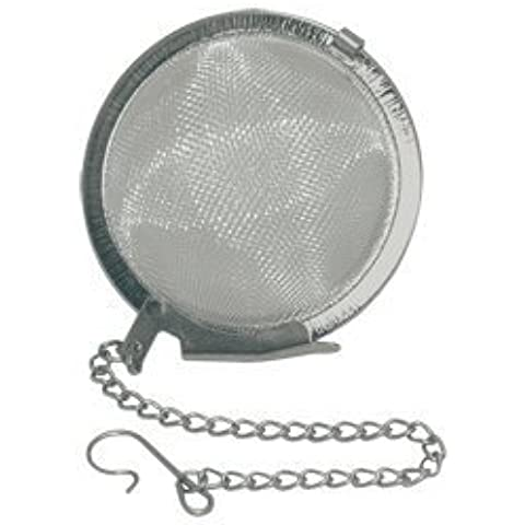 Tea Ball Infuser - Stainless Steel, 2.0 inch size by Pride Of India