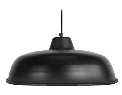 tosel-14174-trog-roul-suspension-repouss-bord-roul-acier-noir-e27-40-watts-32-x-32-x-90-cm