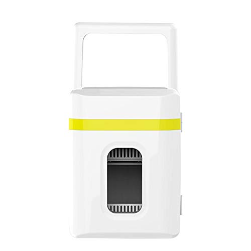 QueenHome Mini-Kühlschränke Mit Cool Kid Getränkekühlschrank Mini-Bar Minibar Zimmerkühlschrank Mit 10 L Kapazität Kühl- Und Wärmegerät Für Pkw-Roadtrips Büros Und Wohnheime Für Privathaushalte