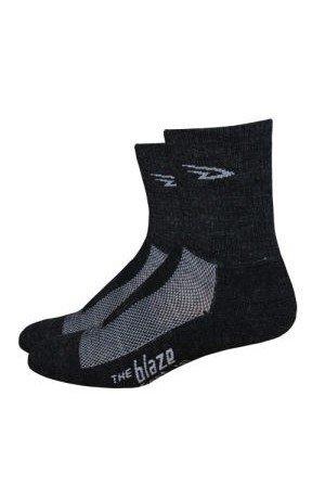 Defeet Blaze with Wool socks Charcoal/Gray MD