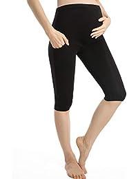 e49d22f89fa60 Pregnancy Shorts For Women Maternity Leggings Over Bump Cropped Pregnant  Pants