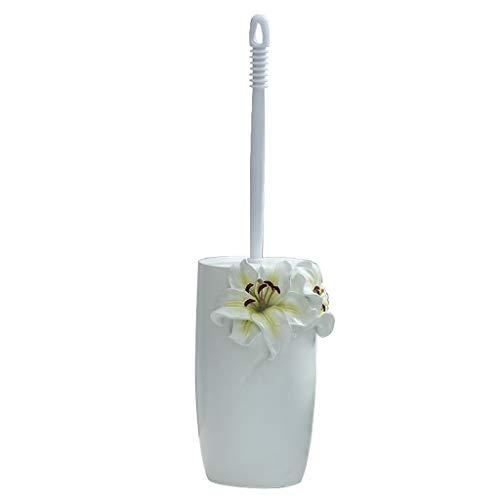 Brosse de toilette ZHAOSHUNLI avec Base en résine Salle de Bains créative Salle de Bains Poinçonnage Gratuit WC