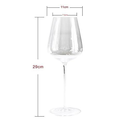 Parent incutex grand verre à vin soufflé à la bouche élégant premium 700 ml verres à vin rouge-taille xXL, 4 x