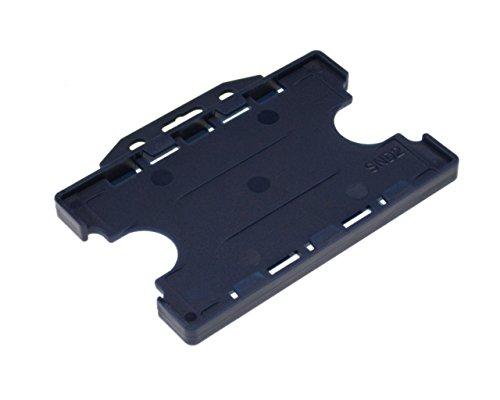 Ausweishalter, doppelseitiger Ausweishalter von ID Card IT, 5er Pack 86 x 54 mm navy
