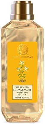 Forest Essentials Silkening Shower Wash Mashobra Honey & Vanilla 1