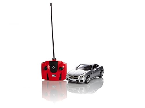 mercedes-benz-slk-350-remote-radio-controlled-model-car-124-scale-in-red-silver-white-silver