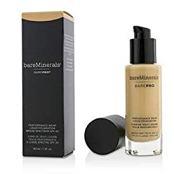 BareMinerals BarePro Performance Wear Liquid Foundation SPF20 -  10 Cool Beige 30ml/1oz