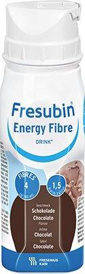 Fresubin ENERGY Fibre Drink Schokolade Trinkflasche, 6X4X200