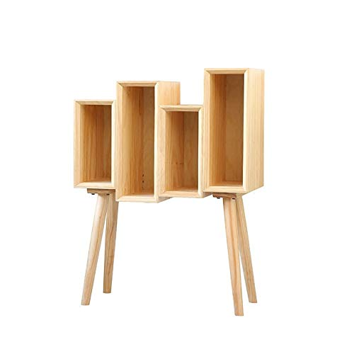 VIOY Einfachen Kleinen Bücherschrank des Einfachen Holzes Schiebt Geschenkhausschlafzimmer-Wohnzimmermode,Kabinett,Einheitsgröße