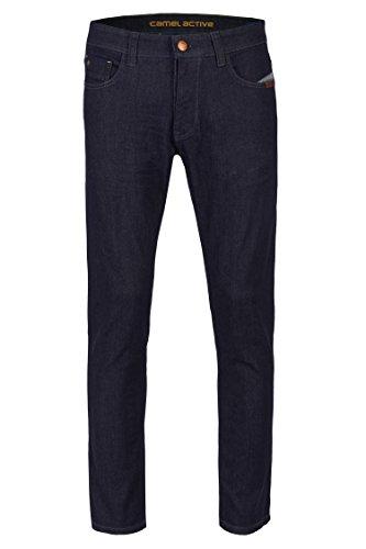 camel active Herren 5-Pocket Jeans Madison RAW Jeans 35/36 488655 9906 (5-pocket-raw Denim)