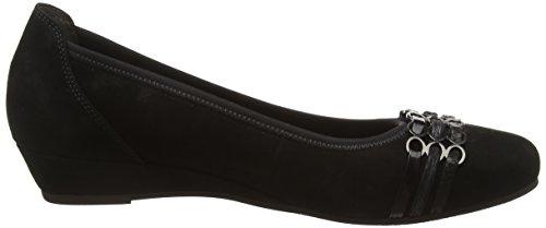 Gabor Comfort Sport, Chaussures Femme À Talon Noir (schwarz 57)