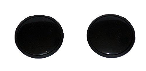 Preisvergleich Produktbild HP-Autozubehör 62820 Zierschrauben Set Schwarz 32mm