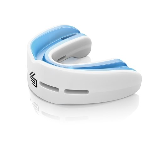 Image of Shock Doctor 6702 Nano Double Fight Mouth Guard White - Adult