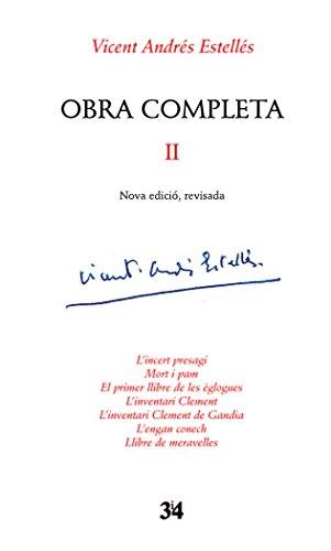 Obra completa II (Nova edició, revisada)