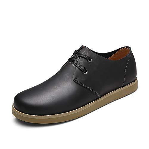 FHTD Zapatos De Cuero Casuales De Los Hombres 2018