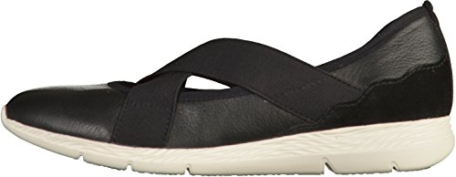 TAMARIS Damen Ballerinas Yoga it Schwarz Schwarz (001 Black)