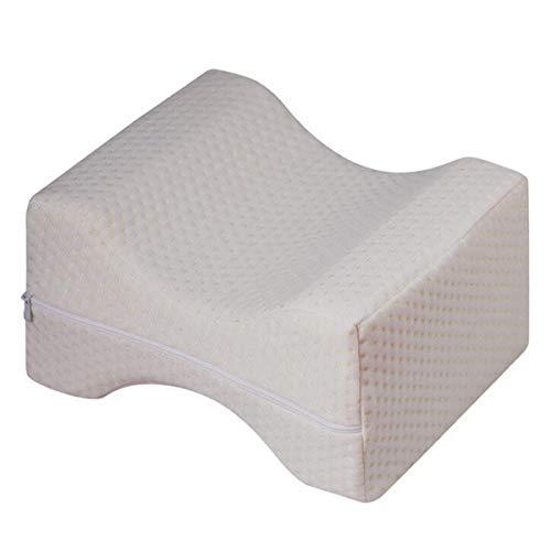 Orthopädische Unterstützung Kissen (ZHENWOFC 26x21x15 CM Kontur Memory Foam Beinkissen Orthopädische Kissen Zurück Hüften Knie Unterstützung Abdeckung Hardware-Ersatzteile)