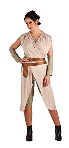Rey Star Wars Eco Kostüm für Damen M (Ray Star Wars Kostüm)