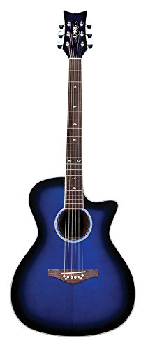 Daisy Rock DR6278-A-U Wildwood - Guitarra, color azul