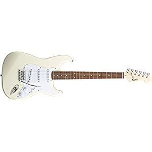 Squier Bullet Stratocaster Tremolo Electric Guitar – Arctic White