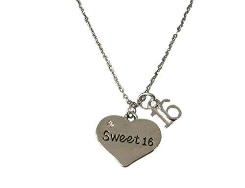 Sweet 16Jewelry-Sweet Sixteen Geschenk Perfekte Geburtstag Geschenk für Mädchen ()
