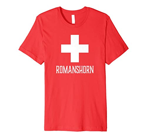 Romanshorn, Switzerland - Swiss, Suisse Cross T-shirt