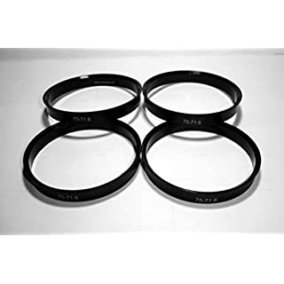 4 Randfelgen Bügel 75 - 71.6 Aros für Felgen-Aluminium ANTERA Avus Imola Mythos oz Racing Superleggera ultraleggera
